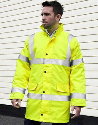Core Hi-Vis Motorway Coat