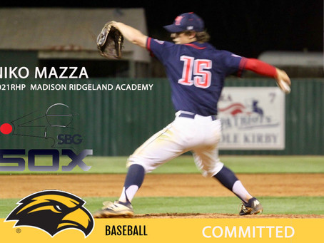 Niko Mazza Commits to University of Southern Mississippi