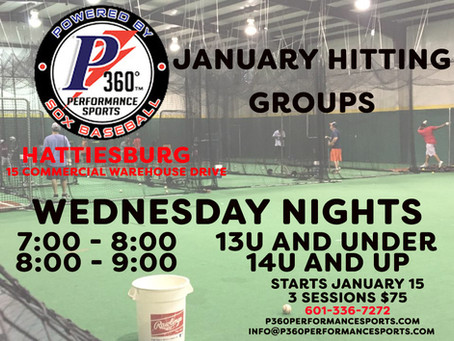 Hattiesburg Announces January Hitting Groups