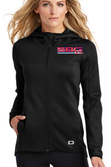 LOE728 OGIO Endurance Ladies Stealth Full Zip Jacket