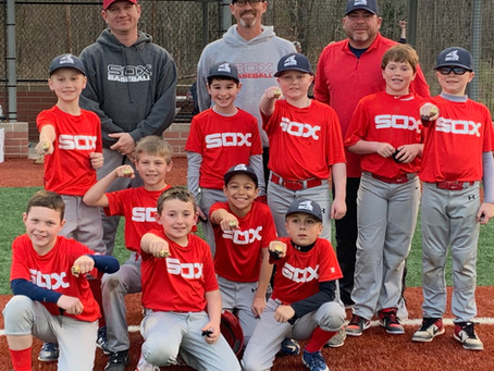 Sox 9U Estes Start as Champs