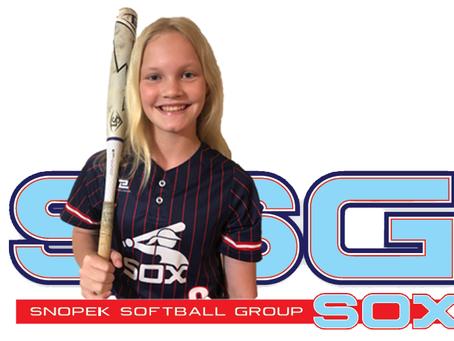 Academy Sports SSG Softball Spotlight Player of the Week