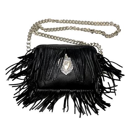Leather bag - Sacred heart