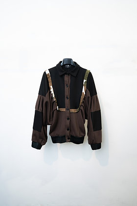 Over Shirt Jacket in felpa