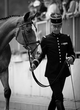 Lt. Col. Thibault Valette & Qing du Briot
