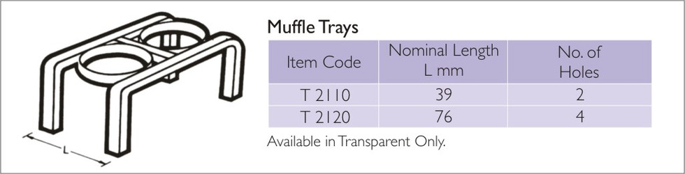 Muffle Tray