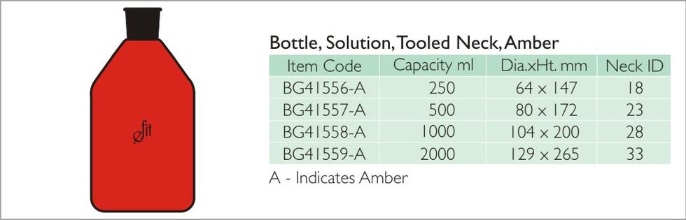 7-2 BOTTLE SOLUTION TOOLED NECK, AMBER.j