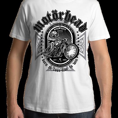 Motorhead - Iron Horse (White T-Shirt)