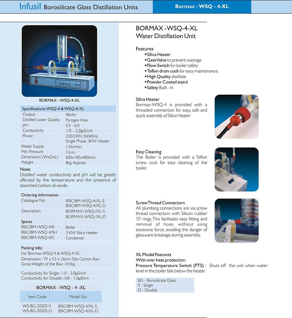 BORMAX WSQ 4 XL