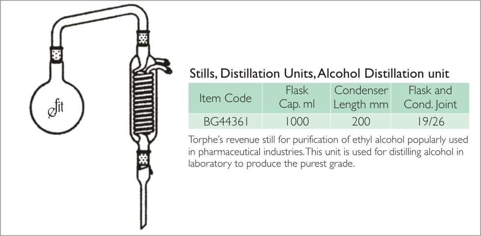 49-3  STILLS, DISTILLATION UNITS, ALCOHO
