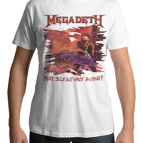 Megadeth - Peace Sells But Who's Buying (White)