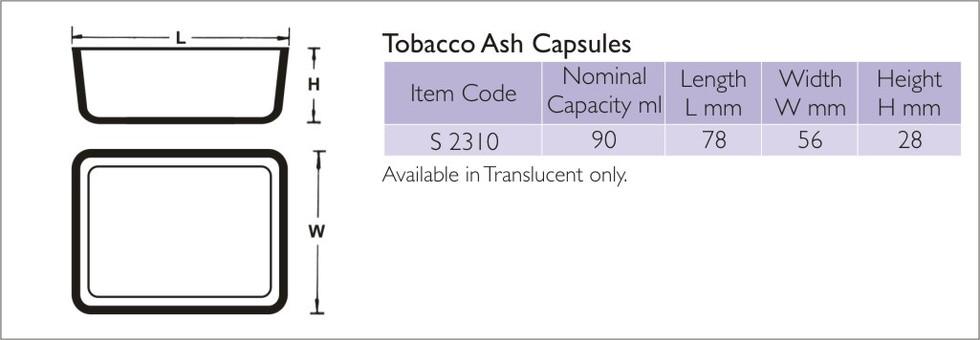 Tobacco Ash Capsule