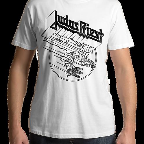 Judas Priest - Screaming For Vengeance (White T-Shirt)