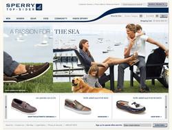 Sperry Top-Sider Website