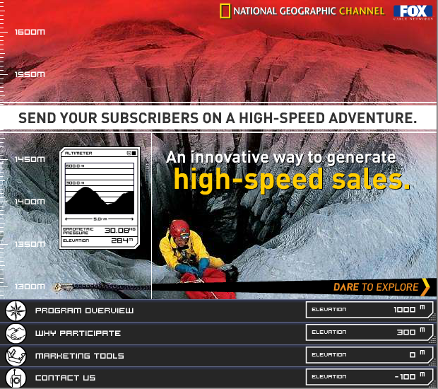 National Geographic Channel Campaign