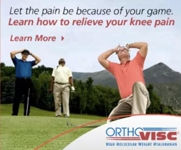 ORTHOVISC ad campaign