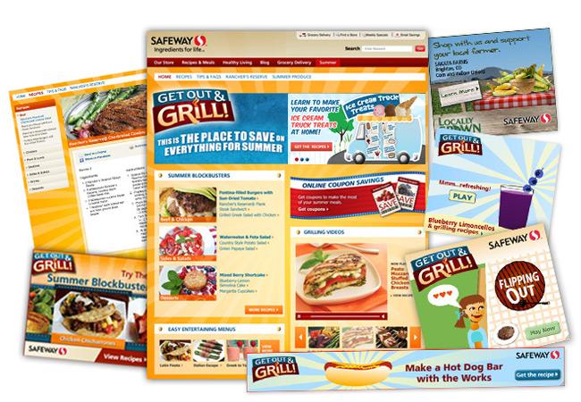 Safeway Grilling campaign