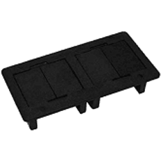 Caixa Retangular Embutir 4 Blocos Pt (Vazia)