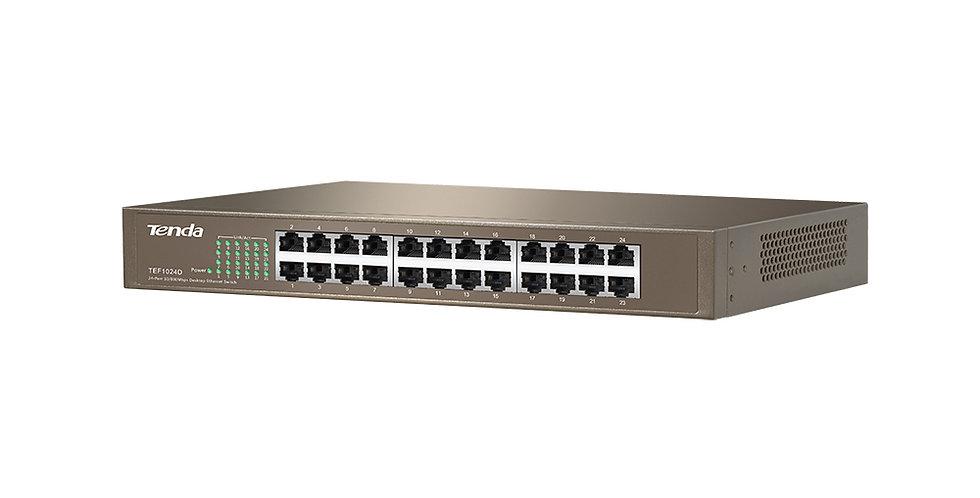 Switch de 24 portas 10/100 Mbps