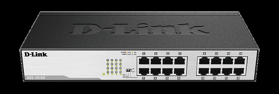 Switch Ethernet Gigabit 16 Portas DGS-1016 D-Link