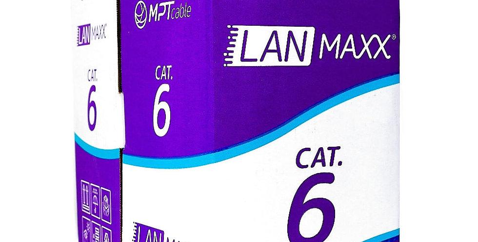 Cabo de Rede UTP Cat6 Giga 4px23AWG CM MPT Caixa 305 M