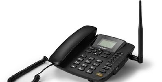 Celular Rural Fixo Quadriband 3G Preto - Multilaser