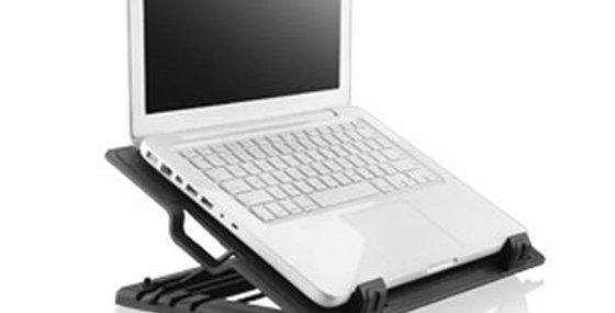 Base Cooler Vertical Para Notebook Preto - Multilaser