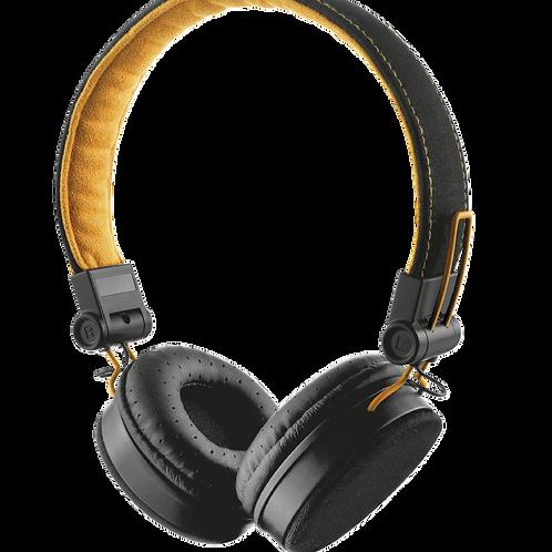 Headphone com Fio Black/Orange Trust