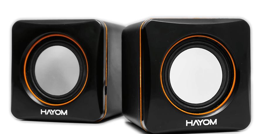 Caixa de Som USB Potência 3W*2 Hayom