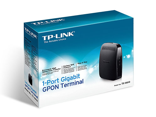 Terminal GPON  de 1 Porta Gigabit TX-6610 TP Link
