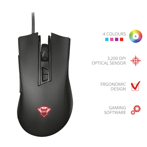 GXT 121 Zeebo Gaming Mouse