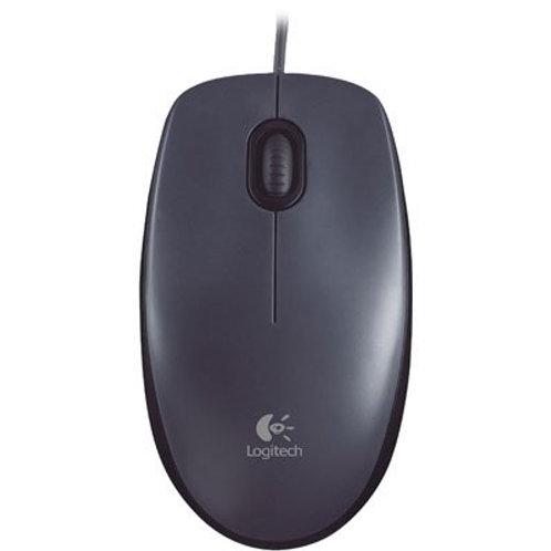 MouseOptico USB Com Fio Logitech M90