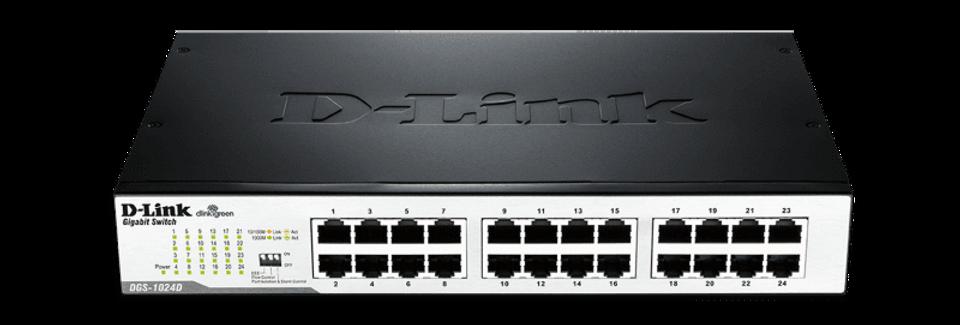 Switch Ethernet Gigabit 24p DGS-1024 D-Link