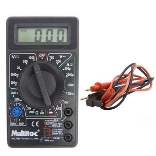 Multimetro DT 830 B Multitoc