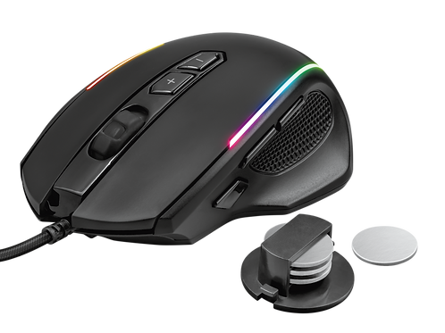 Mouse USB GXT 165 Celox RGB Gaming