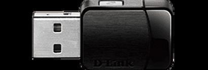 Adaptador Wi-Fi USB AC600 MU-MIMO DWA-171 D-Link