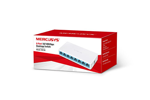 Switch 8 Portas 10/100 Mercusys