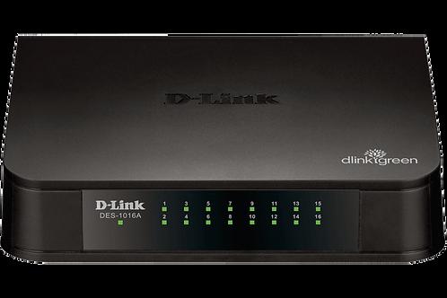 Switch 16 Portas D.Link DES 1016A
