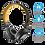 Thumbnail: Headphone com Fio Black/Orange Trust