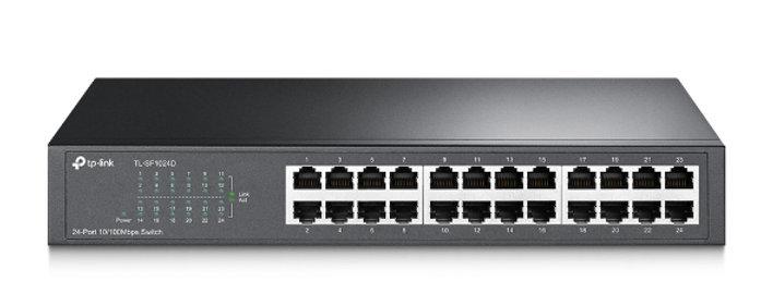 Switch de 24 portas 10/100Mbps