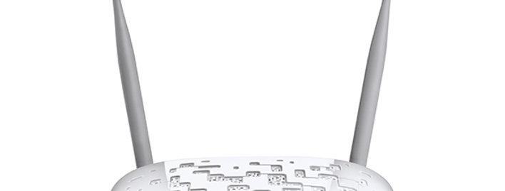 Modem Roteador Wireless N VDSL2 USB 300Mbps  - Tplink