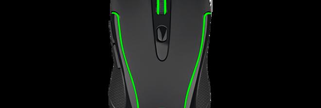 Mouse Gamer T-Dagger Private RGB 3200 DPI, 6 Botões, Black
