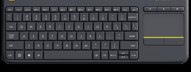 Teclado e Mouse Touch USB K400 Logitech
