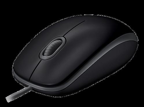 Mouse  USB Silent Preto Com Fio M110 Logitech
