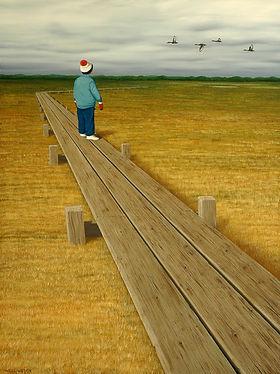 Tony Wellington Oil Painting