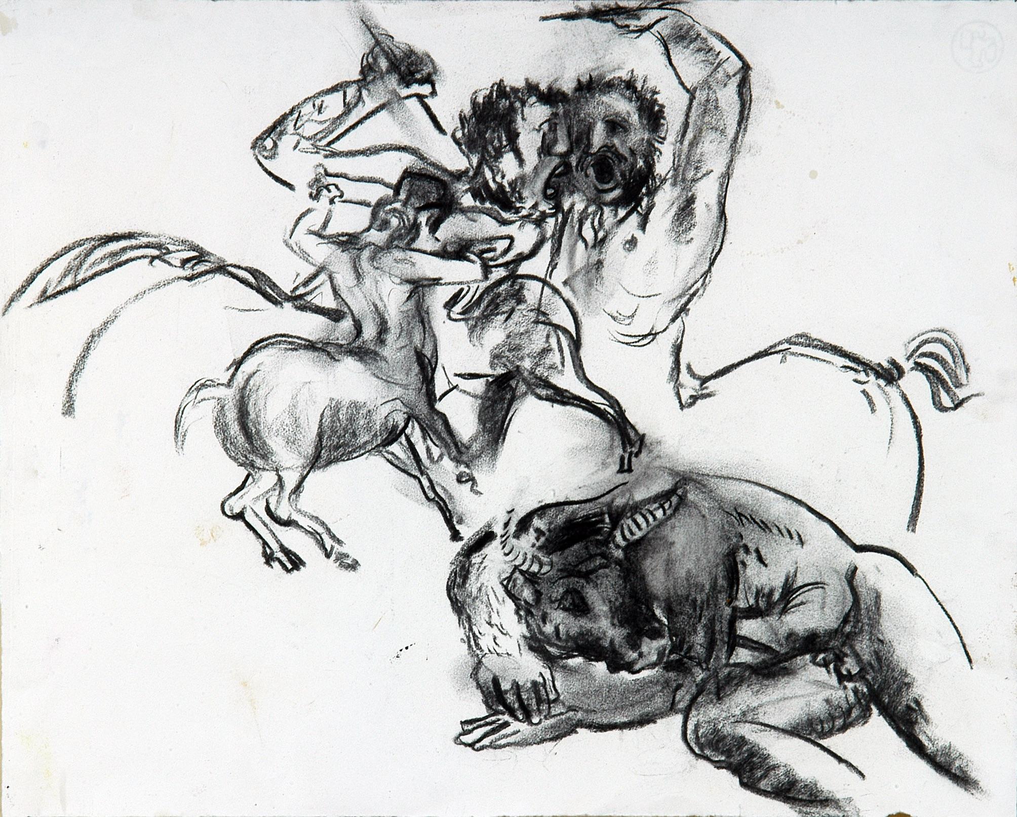 Centaure et minotaure