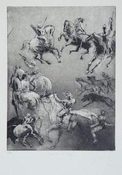 Cavaliers et loups