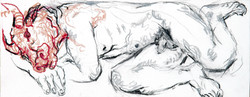 Minotaure rêvant