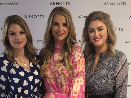 Presenting with Vogue & Amber at Arnotts