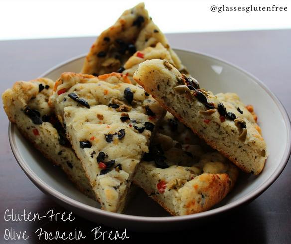 Olives + Bread.